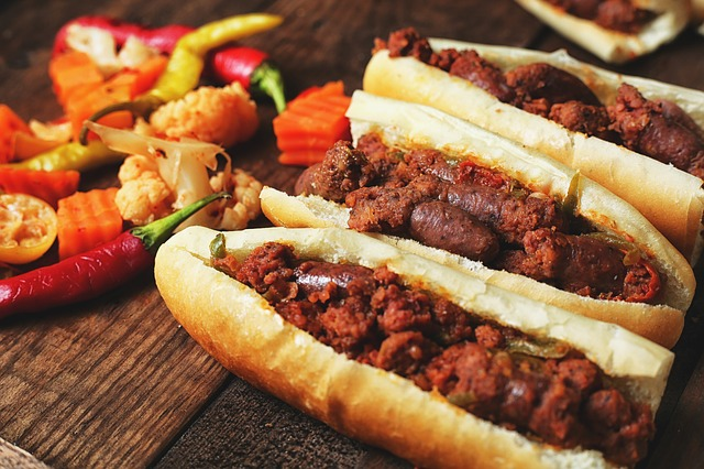 Sausage is one of the most famous Egyptian dishes